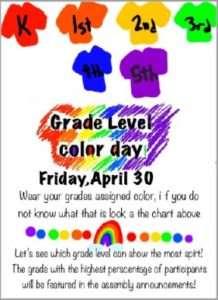 Color Day Poster