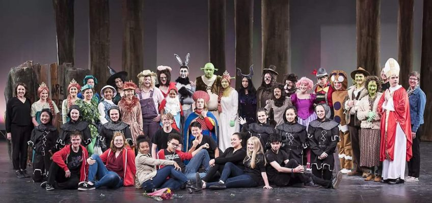 Shrek Cast Photo