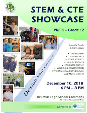 Download the STEM and CTE Showcase flyer