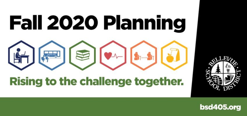 Fall 2020 Planning. Rising to the challenge together. bsd405.org