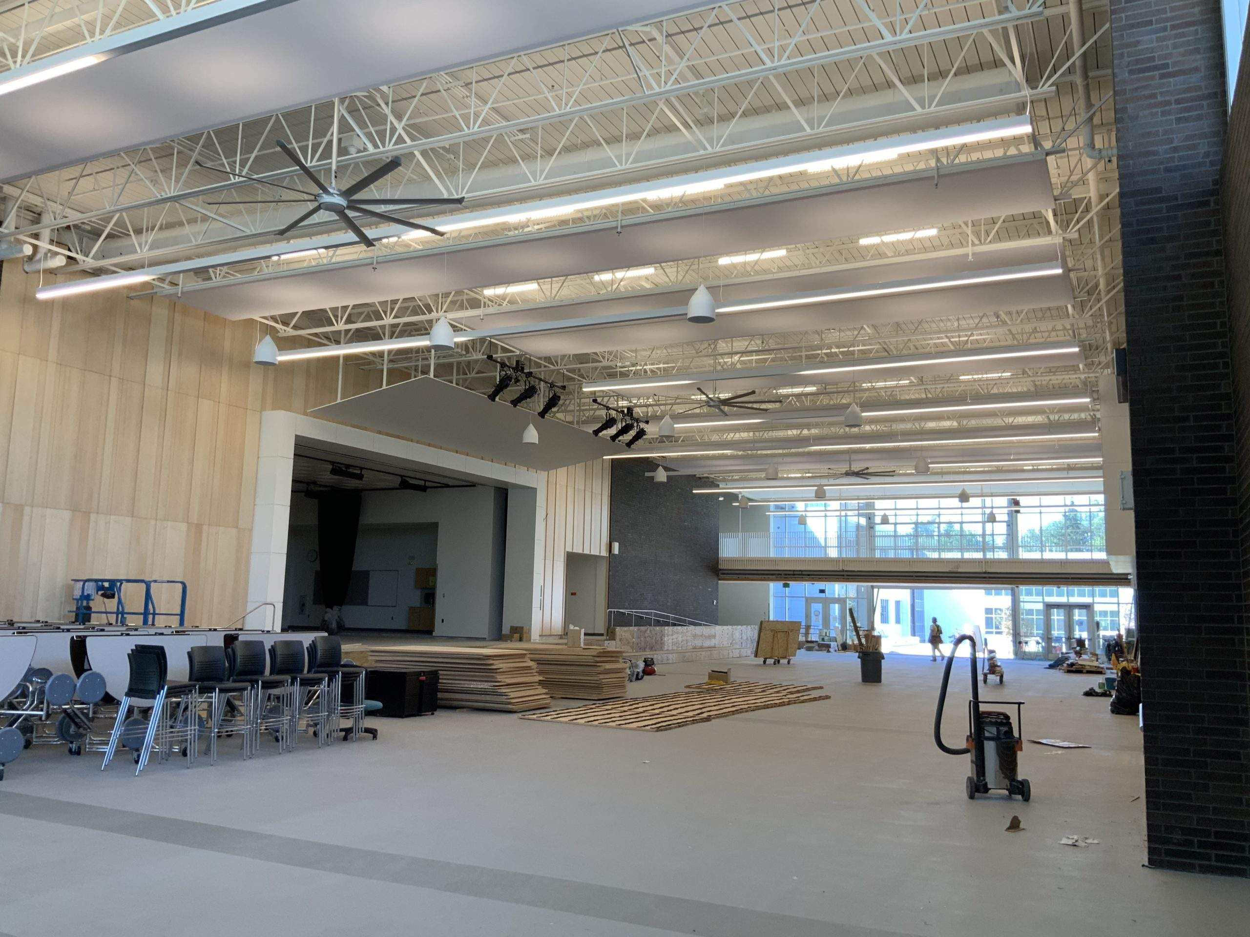 Highland Middle School construction site